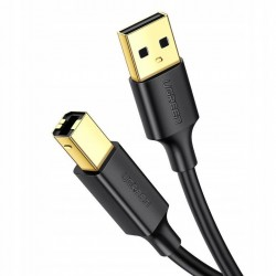 UGREEN 10351 Kabel USB 2.0 A-B pozłacany 3m