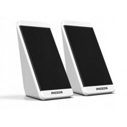 MOZOS MINI S1 głośniki 2.0 na USB białe