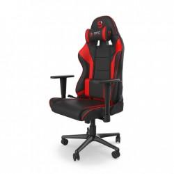 SPC GEAR SR300F V2 fotel gamingowy czarny/czerwony