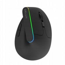 DELUX M618DB Bezprzewodowa mysz pionowa 4000DPI