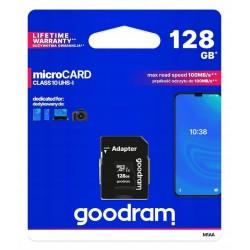 GOODRAM Karta pamięci microSD 128GB z adapterem