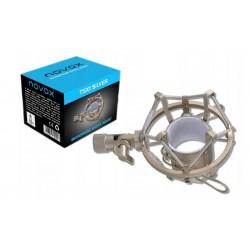 NOVOX TSX1 Silver - kosz antywibracyjny do mikrofonów NC-1