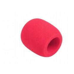 Gąbka mikrofonowa różowa