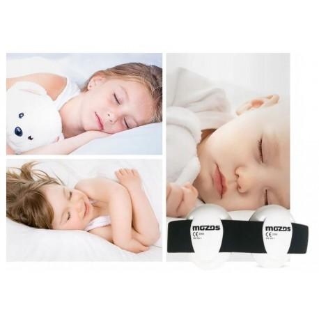 MOZOS Mkid nauszniki ochronne dla niemowląt białe