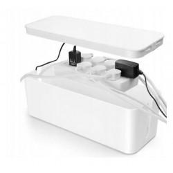 MOZOS pojemnik na kable zasilające biały