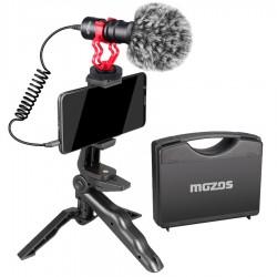 MOZOS MKIT-600PRO mikrofon DSLR do aparatu i telefonu