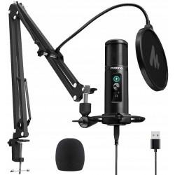 MAONO AU-PM422 mikrofon USB z ramieniem