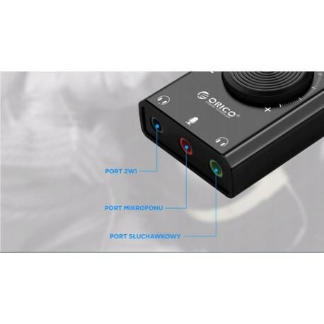 ORICO SC2-BK-EP karta dźwiękowa USB