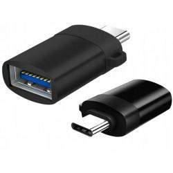 MOZOS ASM-4 adapter OTG USB-C męskie - USB-A żeńskie