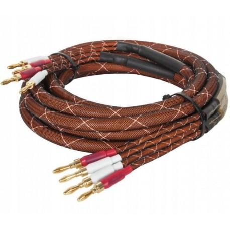 KRUGER&MATZ KM0335 kabel głośnikowy - wtyk bananowy