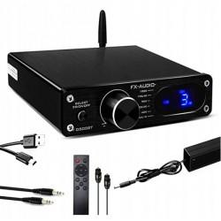 FX-AUDIO D502BT wzmacniacz 2.1 z DAC USB Bluetooth