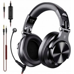 ONEODIO A71 słuchawki z mikrofonem czarne