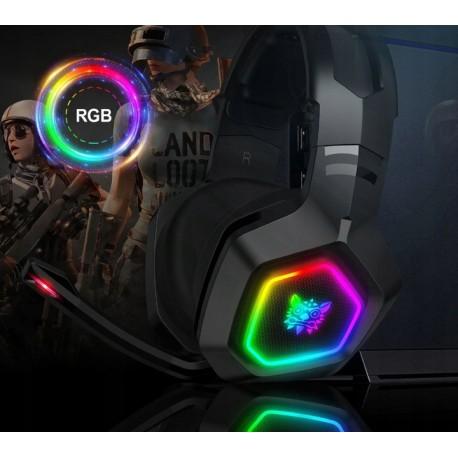 ONIKUMA K10RGB słuchawki z mikrofonem
