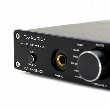 FX-AUDIO DAC-X6 wzmacniacz słuchawkowy