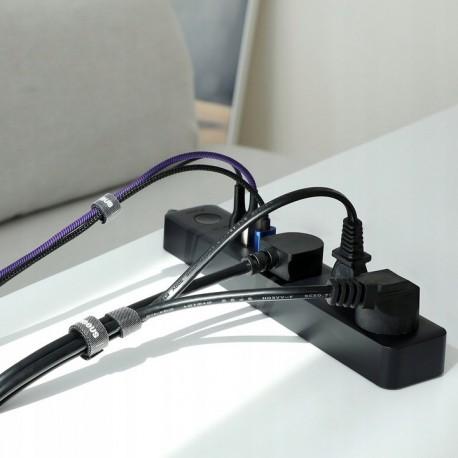 BASEUS ACMGT-F01 Taśma rzepowa 3m czarny