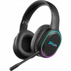 PICUN P80S-BK słuchawki bezprzewodowe czarne