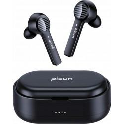 PICUN W16B słuchawki bezprzewodowe TWS czarne