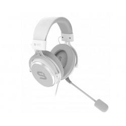 SPC GEAR VIRO Onyx White słuchawki z mikrofonem