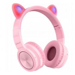 PICUN LUCKY-PINK słuchawki bezprzewodowe różowe