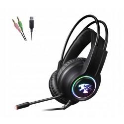 VARR VH8030 słuchawki przewodowe RGB